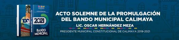 BANDO MUNICIPAL 2020
