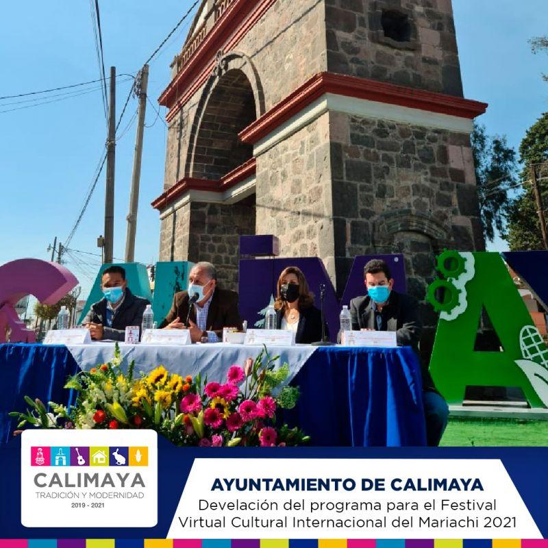 Rueda de Prensa Festival Virtual Cultural del Mariachi Calimaya 2021